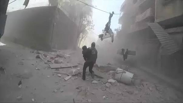 Sok halott a szíriai légicsapásokban
