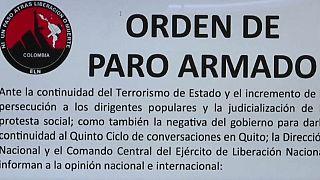 El ELN amenaza con bloquear el territorio colombiano