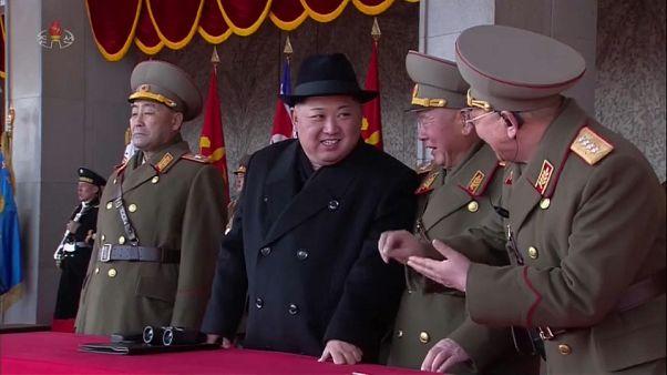 Desfile militar, más sanciones, Juegos Olímpicos de Invierno