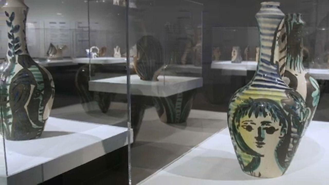 Koppenhágába érkeztek Picasso kerámiái