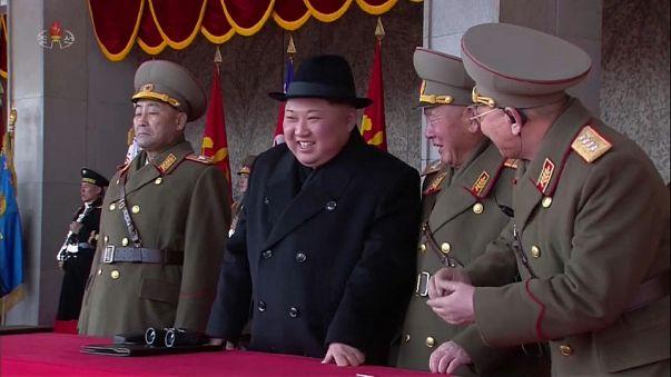 Kim Jong-un was celebrated at the parade