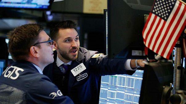 ¿Por qué cayeron las acciones estadounidenses y cómo afectaron a Europa?