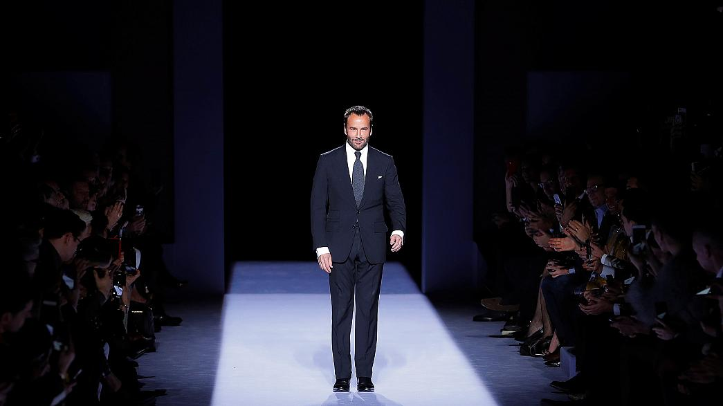 Premier défilé homme de Tom Ford à New York
