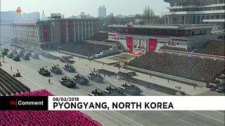 Kuzey Kore ordusunun 70. kuruluş yıl dönümü