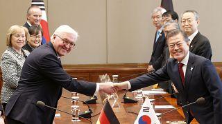 Kurz vor Olympia: Steinmeier erinnert an deutsche Wiedervereinigung in Seoul