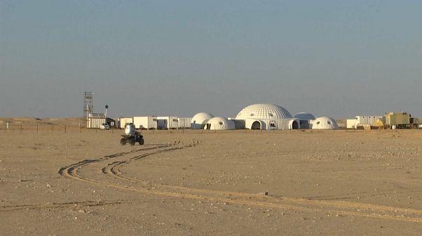 قاعدة للمريخ بصحراء ظفار في سلطنة عمان