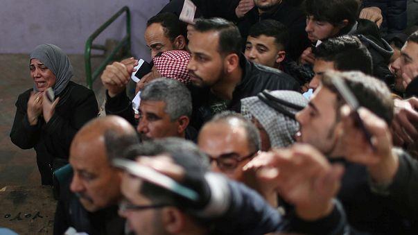Tömegjelenet az egyiptomi-palesztin határon