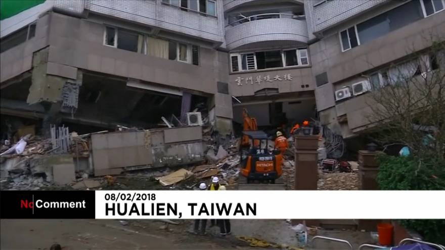 Search and rescue operations continue after a 6.5-magnitude earthquake hit Taiwan's Hualien County.