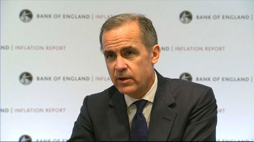 Banca d'Inghilterra anticipa la revisione dei tassi