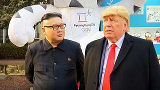ترامب وكيم جون أون أصدقاء في كوريا الجنوبية