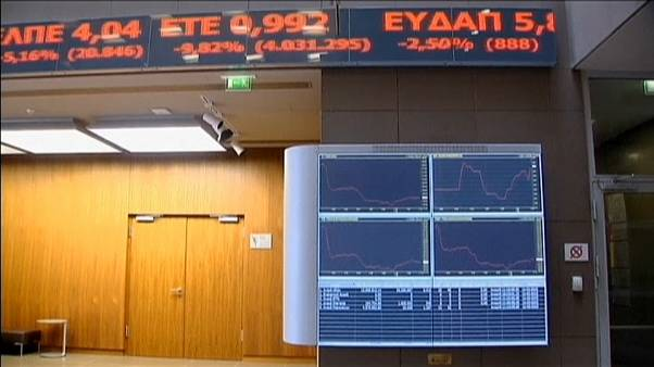 Grecia emite un bono a 7 años, el primero de este tipo desde 2010