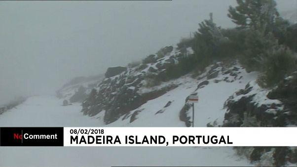 Mau tempo na Madeira