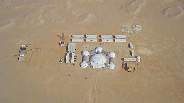 Mars-szimuláció az ománi sivatagban