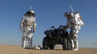 Dünya'da Mars provası