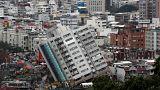 Taiwaneses não atribuem queda de edifícios apenas ao sismo