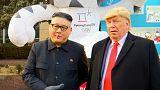 دوستی ترامپ و کیم جونگ اون در خیابانهای سئول
