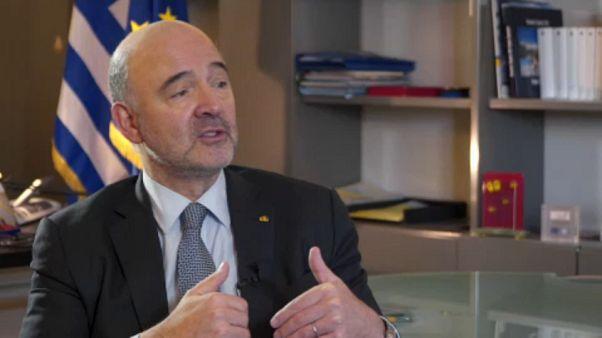 Athénba látogatott az EU pénzügyi biztosa