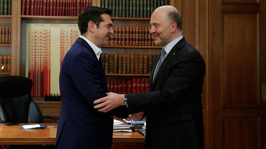 """""""Pas de quatrième plan de sauvetage pour la Grèce"""", assure Moscovici"""