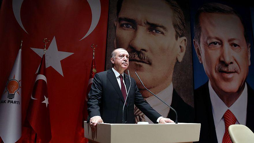 """أردوغان:  تجريد اتحاد الأطباء من صفة """"تركي"""" لمعارضته عملية عفرين"""