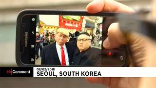 Donald Trump e Kim Jong-un juntos na baixa de Seul?