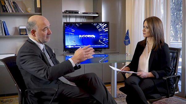 """Moscovici: """"Zeichen, dass sich in Deutschland etwas ändert"""""""