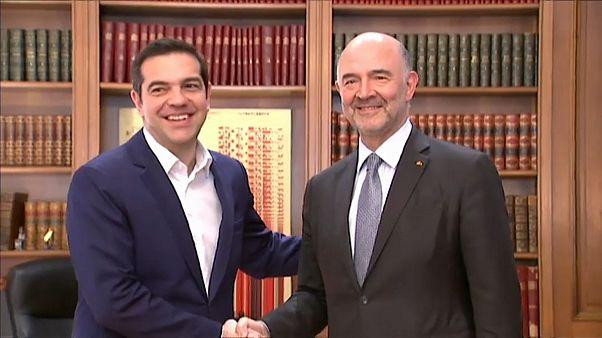 """Moscovici: """"Yunanistan'ın bu yıl kurtarma programından çıkacağına inanıyorum"""""""