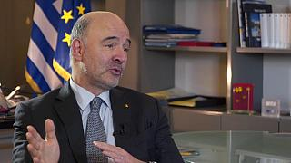 EU economy commissioner talks Greek bailout, Germany, and Portuguese austerity