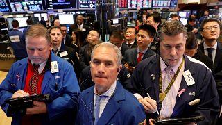Kurseinbruch an der Wall Street