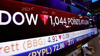 European markets calmer after turbulent week for global stocks