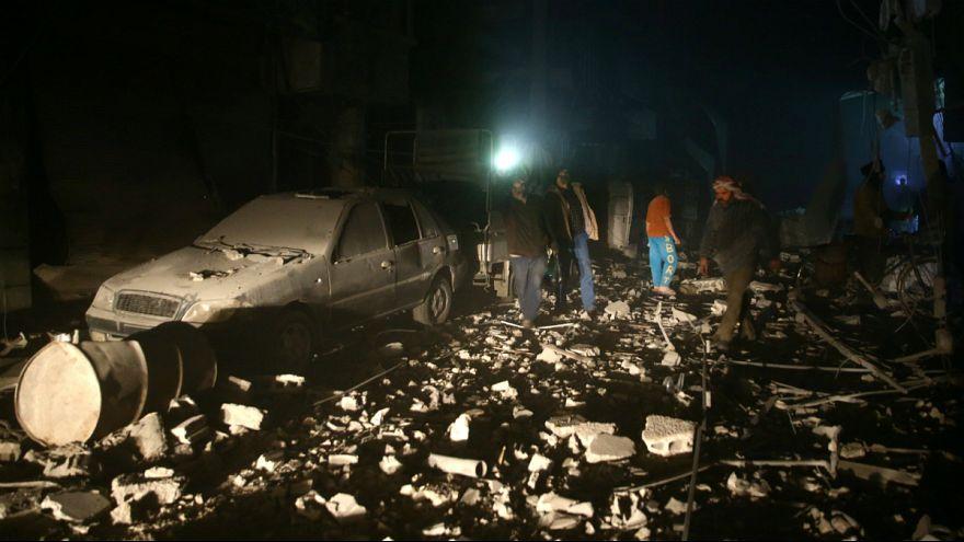Bombardeamentos de Assad prosseguem sobre rebeldes e civis