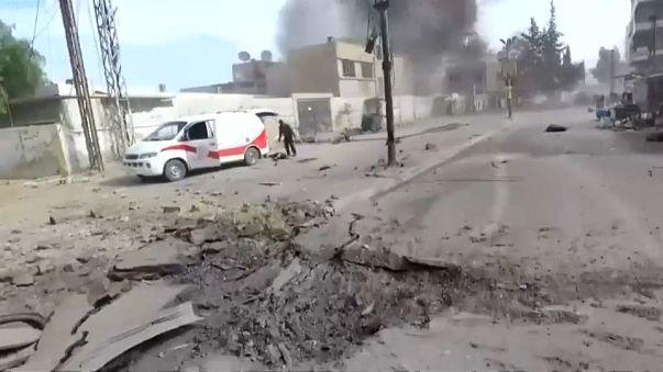 Damasco califica de crimen de guerra el ataque de Deir al Zur