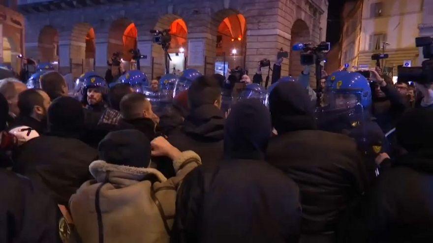 Manifestazione di Forza Nuova a Macerata
