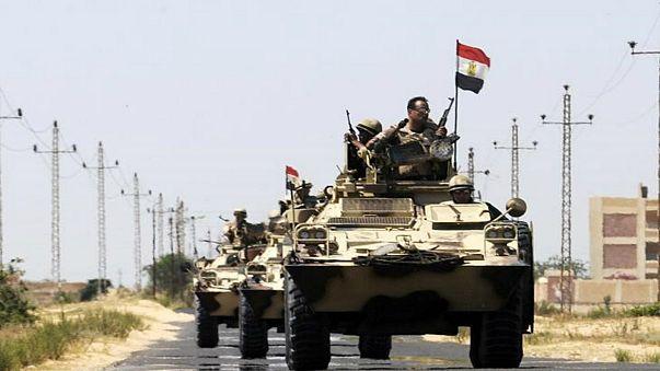 مصر تبدأ عملية عسكرية شاملة ضد الإرهاب في سيناء