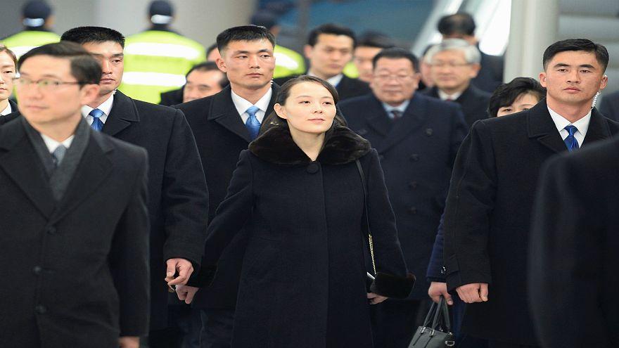 شقيقة كيم جونغ أون تصل كوريا الجنوبية