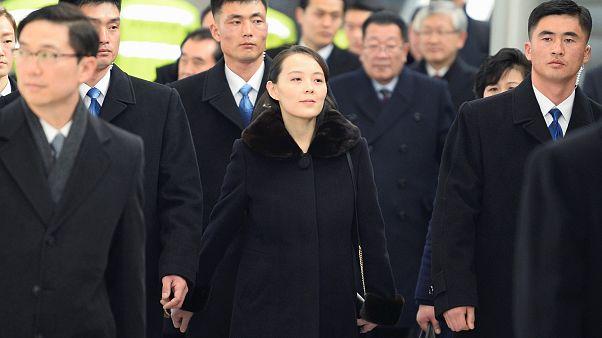 Kim Jong Uns Schwester in Südkorea