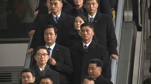 Történelmi észak-koreai vizit