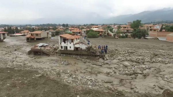 Etat d'urgence inondations en Bolivie
