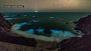"""""""Mar de estrelas"""" na Califórnia"""