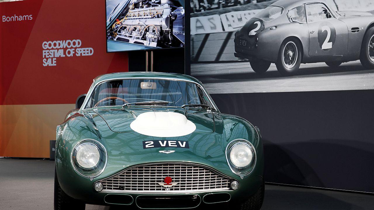 Aston Martin Zagato DB4GT zu verkaufen