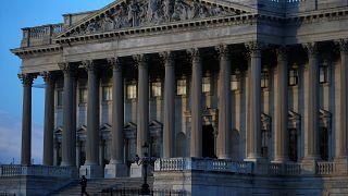 US-Senat: Hier hing der Haushalt in den frühen Morgenstunden fest.