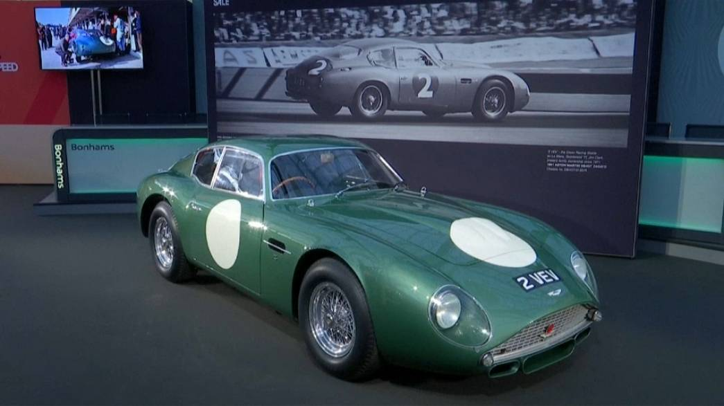 Britain\'s most expensive car up for auction | Euronews