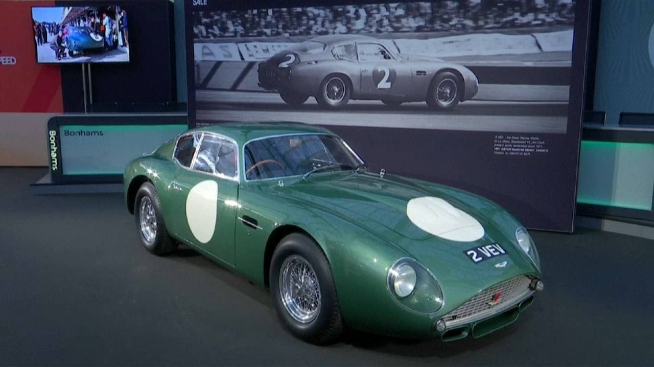 Britain S Most Expensive Car Up For Auction Euronews