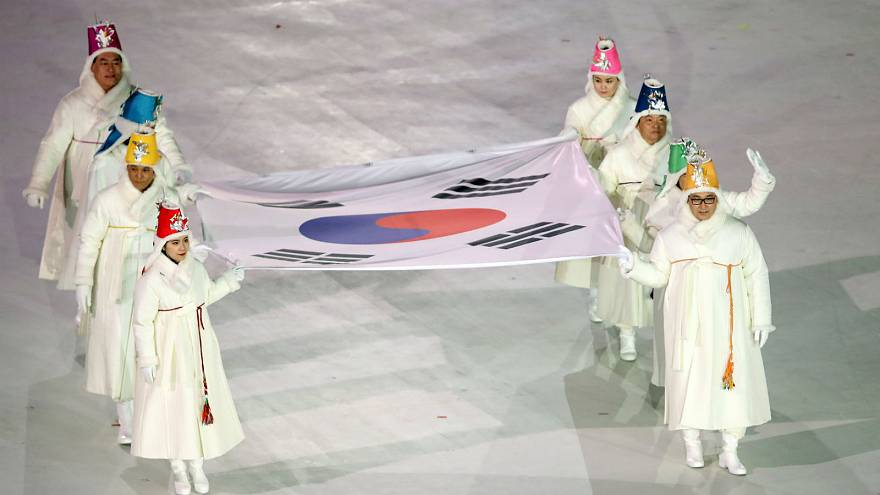 Winter Olympics opening ceremony gets underway