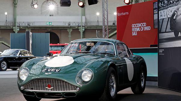 Leiloeira espera obter mais de 10 milhões de euros com Aston Martin de 1961