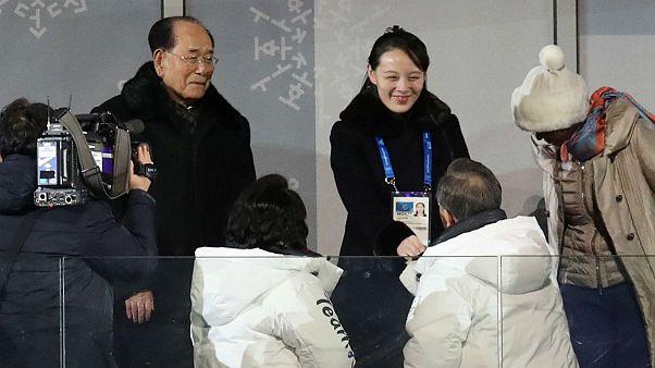 حضور تاریخی خواهر رهبر کره شمالی در مراسم افتتاحیه المپیک زمستانی