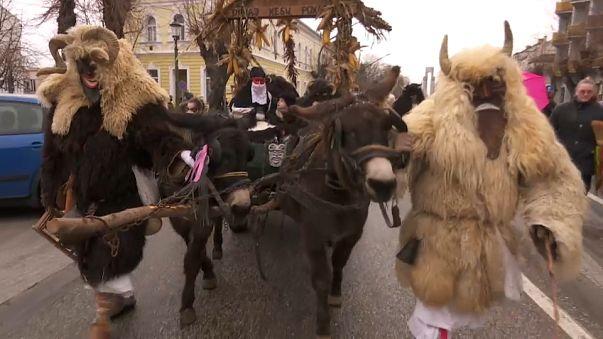 Hongrie : le festival Busó pour chasser l'hiver