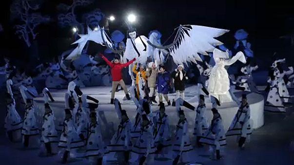Megnyitották a téli olimpiát