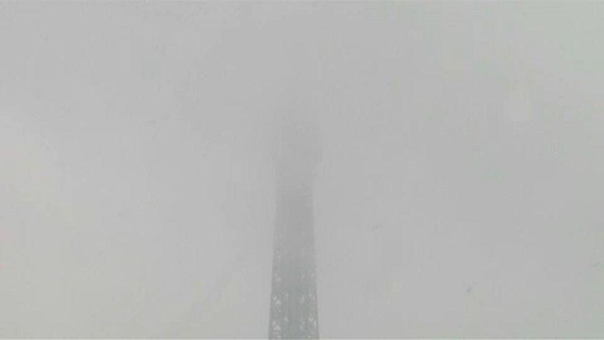 Hóhelyzet Franciaországban