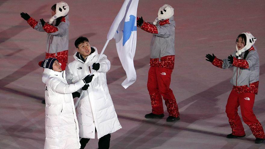 JO : les photos du réchauffement entre les deux Corées