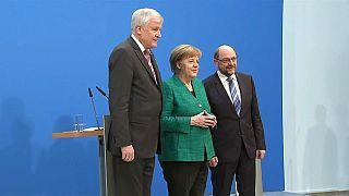 La prensa alemana critica la nueva 'Gran Coalición'
